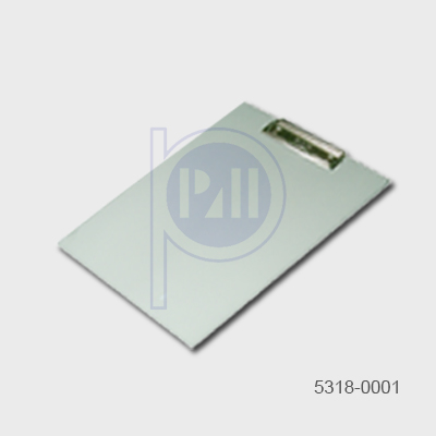 Static Dissipative Acrylic Clipboard